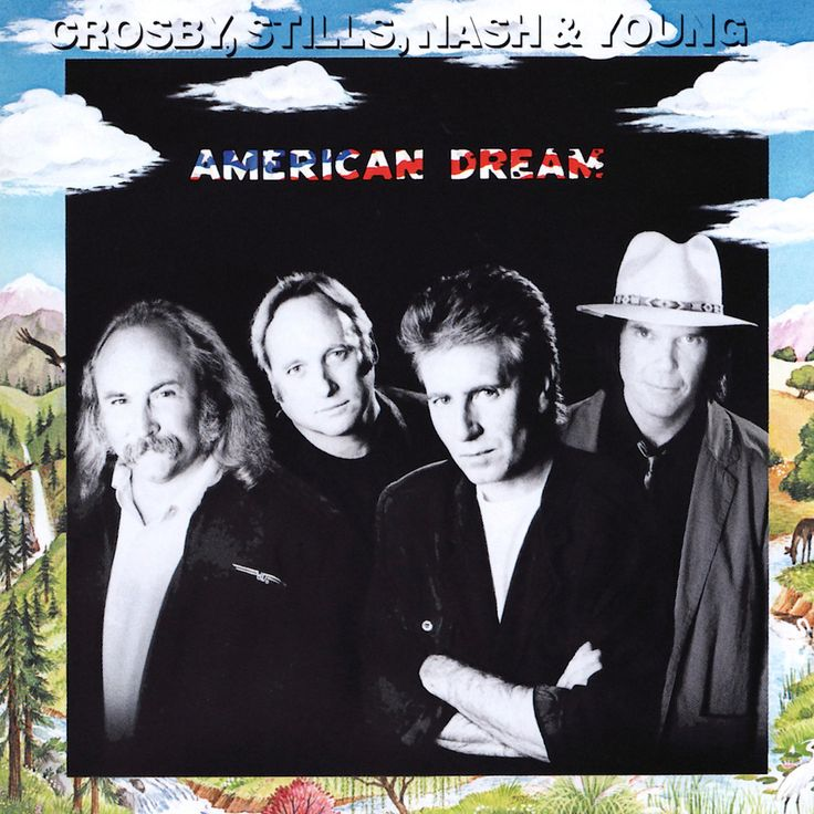 Crosby Stills Nash & Young American Dream - vinyl LP