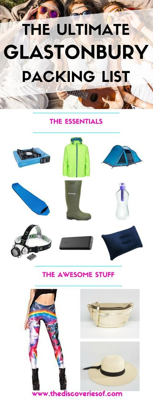 Heading to Glastonbury music festival this summer? Check out our packing list with all the products and clothes you need to bring. It's taken eight years but we have festival packing down to a fine art. Here's how you can too!