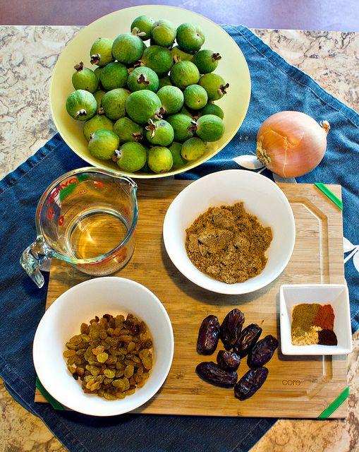 Spiced Pineapple Guava (Feijoa) Chutney by andiezoe, via Flickr
