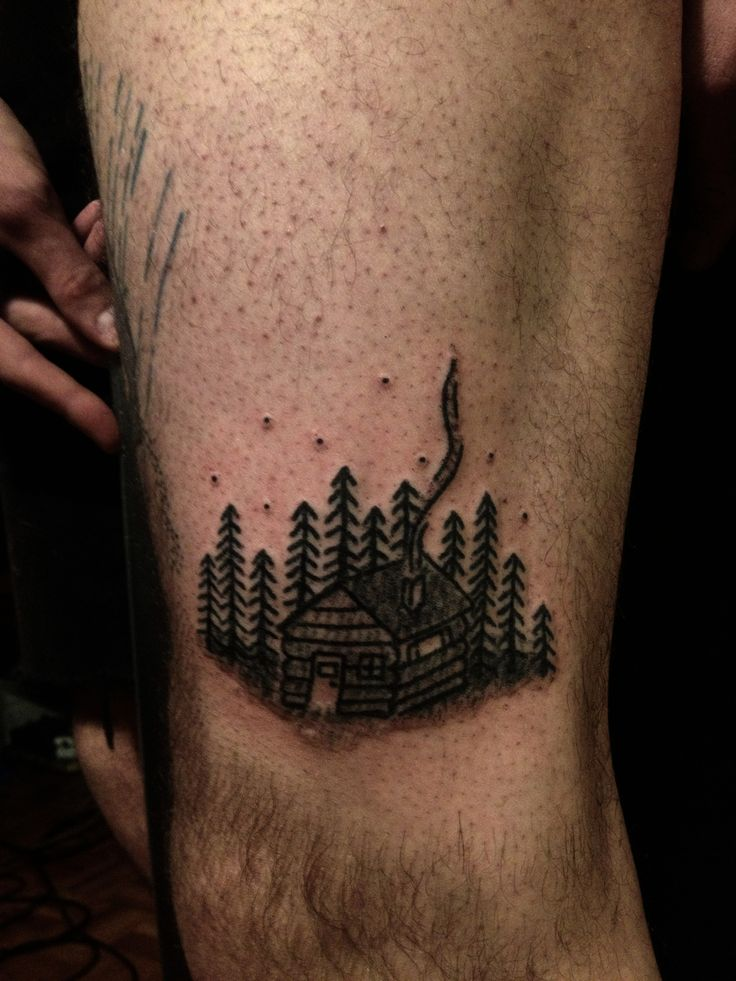 Jenna bouma stick n poke cabin tattoo t a t t o o s for What is stick and poke tattoo