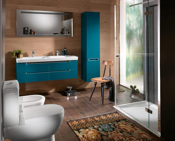 colorful bathroom decor furniture collection villeroy boch like the layout