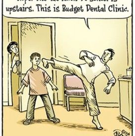 best funny dentist cartoons