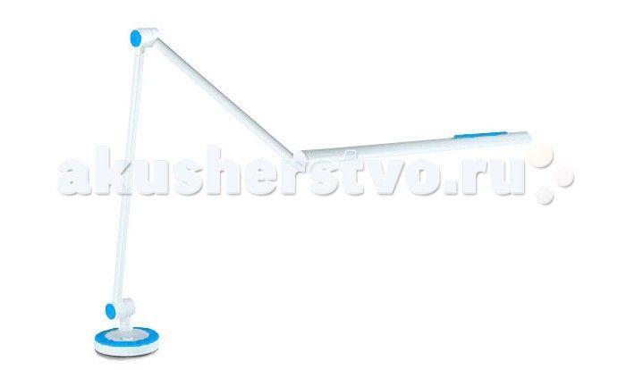 Светильник TCT Nanotec Светильник 2001 на штанге  TCT Nanotec Светильник 2001 на штанге надежно крепится к столу или к полке стола. Удобная поворотная штанга поможет осветить любую зону стола. Поворот штанги 360°. Светодиоды с большим сроком службы не менее 20 000 часов.  Подходит для всех столов и парт.  Особенности: Различные цветные вставки в комплекте; Надежное крепление; Поворотная штанга 360°; Регулируемая высота подачи света;