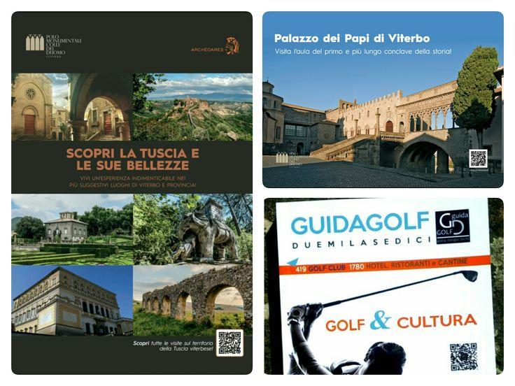Ora anche il mondo del golf conosce Archeoares, il Polo monumentale Colle del Duomo e la Tuscia!!   Grazie a Guidagolf per aver pubblicato la nostra pubblicità!!