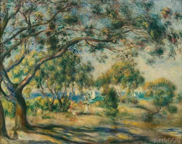 Pierre auguste renoir noirmoutier topseller for Renoir maison classique