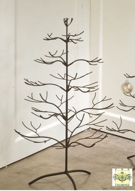 A brand new display tree with a beautiful natural mahogany finish! Ornament Trees - Brown Natural 36""