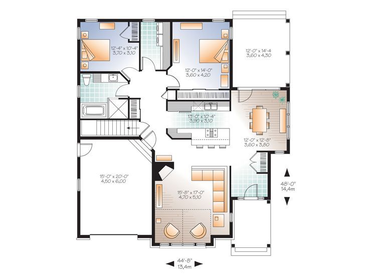 Empty Nesters House Plans Empty Nest House Plan