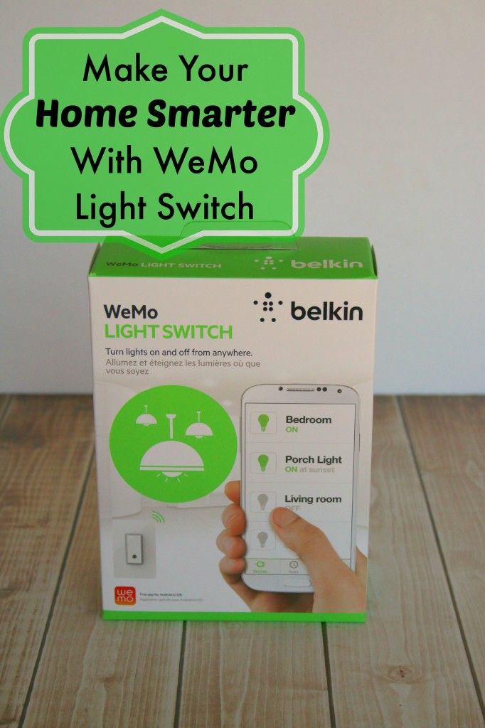 Father's Day Gift Idea! Smart House Find:@Melissa Burton WeMo Light Switch, Full review: #tech #ad