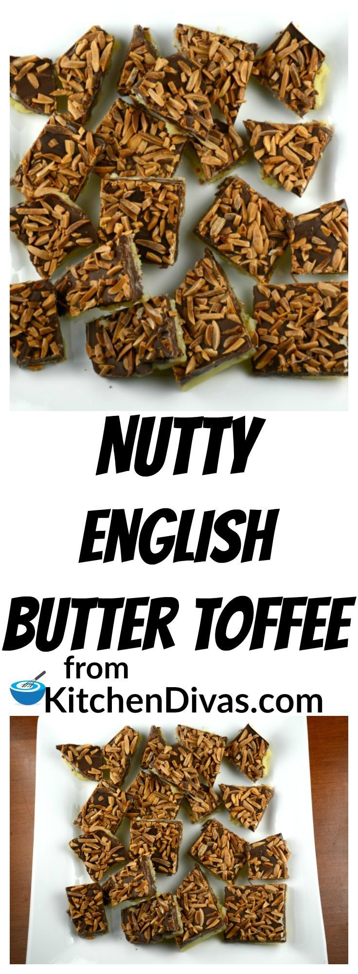 This recipe for Nutty English Butter Toffee is a huge hit.  Every time you serve it.  Every sweet bite is so yummy it is difficult to only have one piece. That is why we can't make it that often.  Come to think of it we have a lot of recipes we don't make that often.