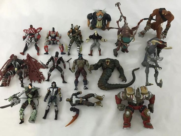 Lot of 16 Loose Spawn Resident Evil Todd McFarlane Toy Figure 92 94 95 | eBay