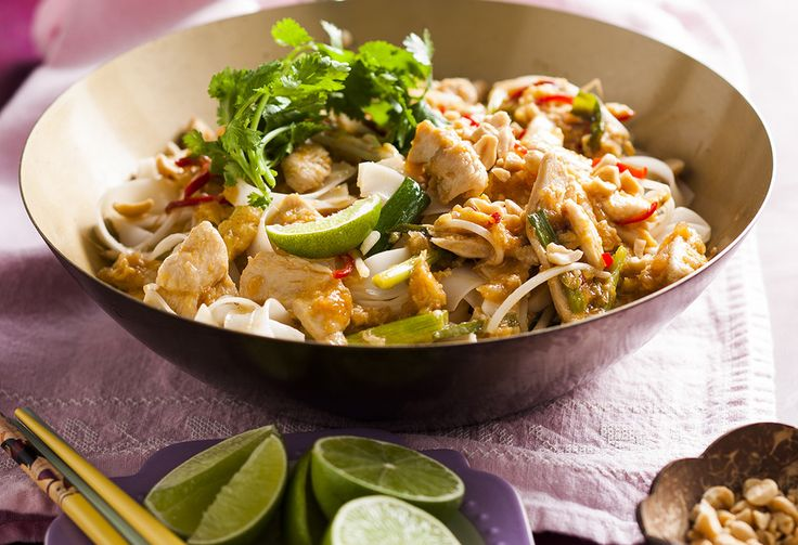There's no need for takeaway, when you can get fakeaway! This super simple chicken pad Thai recipe is ready in 20 minutes – it will save you money and time!