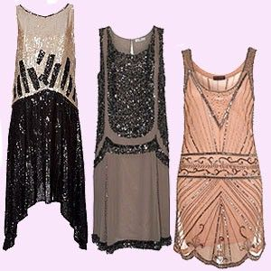 Shop: Twenties dresses  Channel 'The Great Gatsby's Daisy Buchanan in our pick of Twenties-inspired flapper dresses.