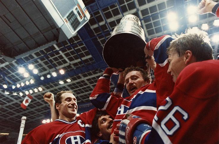 Bob Gainey, Larry Robinson et Mats Naslund : En 1986, les Canadiens de Montréal ont remporté une autre coupe Stanley, la sixième et dernière conquête du trophée dans la carrière de Robinson en tant que joueur. Big Bird s'est envolé vers Los Angeles après la saison 1988-89, encouragé à poursuivre son parcours, alors qu'il venait d'annoncer sa retraite. Il a disputé trois dernières saisons en Californie avant d'entreprendre une carrière d'entraîneur.