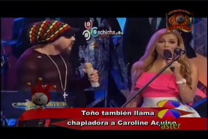 El Análisis De Los Cirqueros De Toño Rosario Llama Chapiadora A Caroline Aquino Y A Pamela Sued #Video