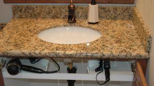 I can't wait until my husband installs these heat-proof hidden trays under my bathroom sink!