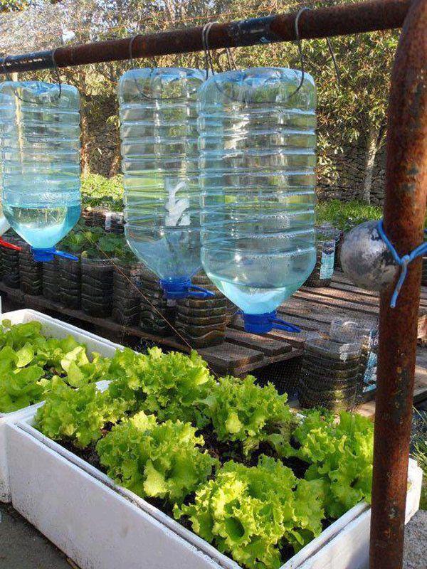 M s de 25 ideas incre bles sobre riego por goteo en for Aspersores para jardin automaticos