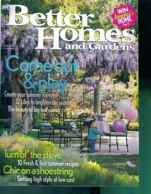Better Homes And Gardens Magazine ~ June 2005 ~ Gently Read Copy Back Issue