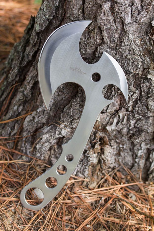 Gil Hibben GH5043 Gil Hibben Gen X Pro Throwing Axe. The weight is properly balanced for easy throwing and for getting the blades to stick into the target. http://kcoti.com/Z8sATI