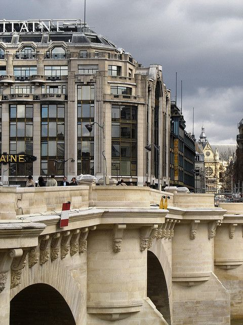Pont Neuf and Samaritaine, Paris I