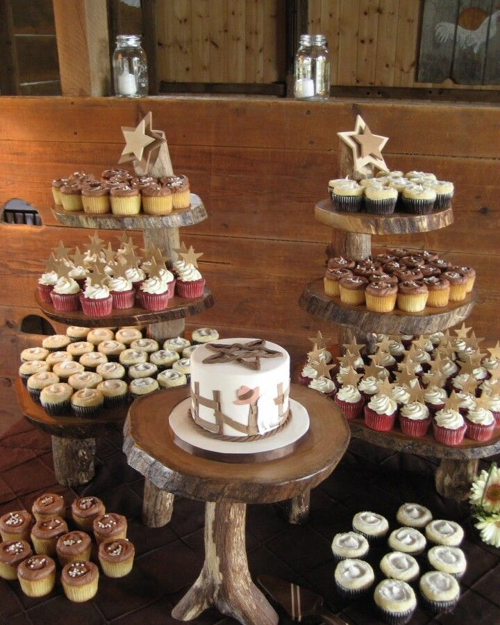 Image Detail For Sugar Petals Cakes Country Theme Wedding Cupcakes