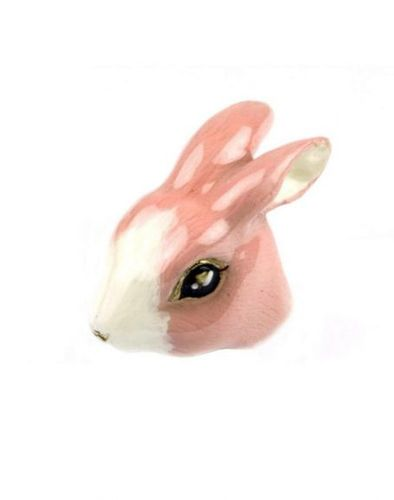 Pale Pink Bunny Ring