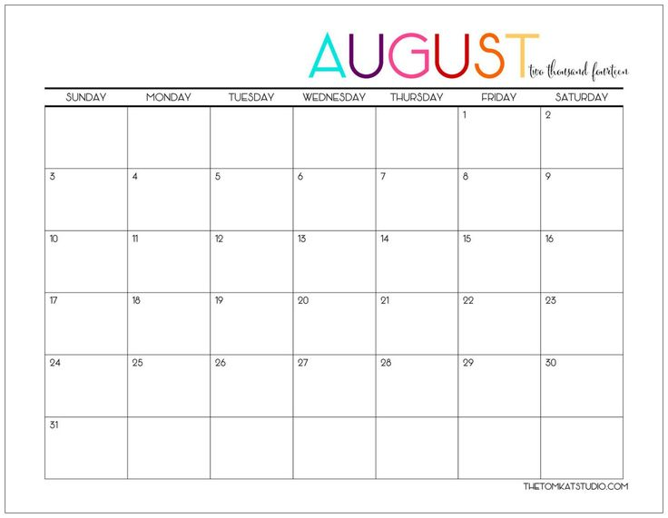 Best 25+ August calendar ideas on Pinterest This month calendar - free printable blank calendar