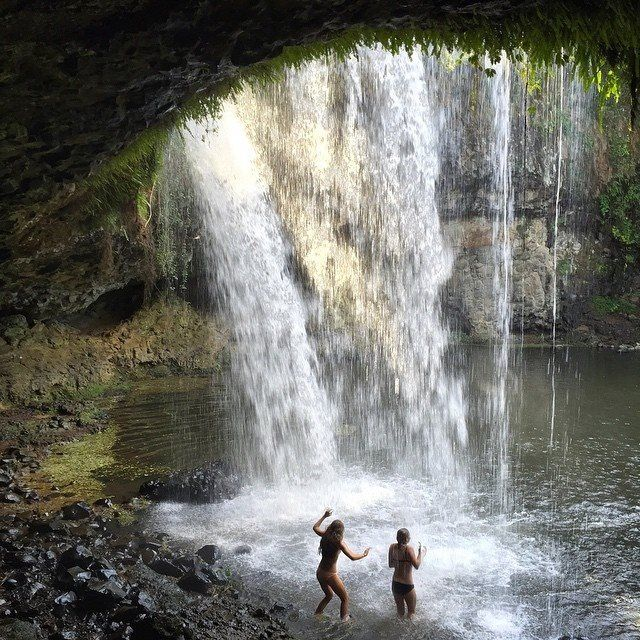 Killen Falls byron bay nsw australia Waterfall Insta: sian_ _ _ _