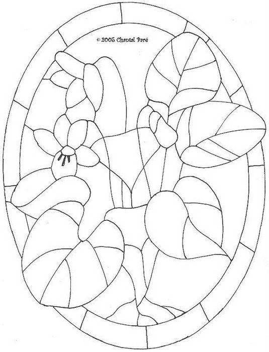 Трафареты для витражей. Обсуждение на LiveInternet - Российский Сервис Онлайн-Дневников