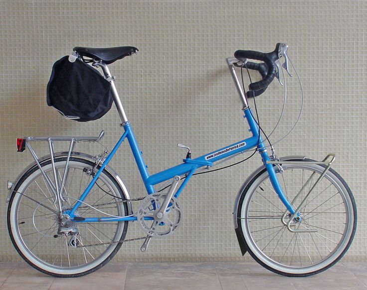 folding bike trekking