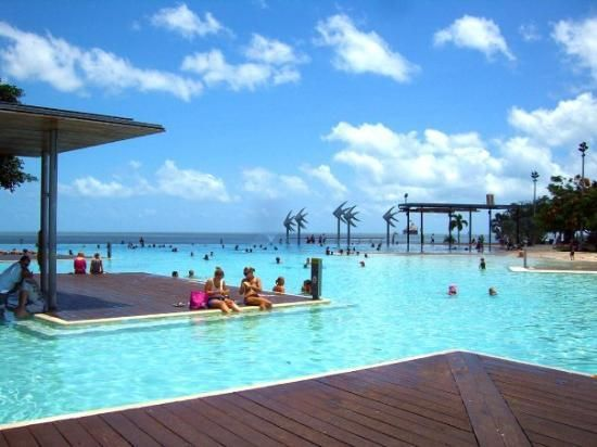 Cairns Esplanade Swimming Lagoon: Beautiful seaside lagoon - Cairns, #Australia http://www.tripadvisor.com.au/ShowForum-g255067-i460-Queensland.html