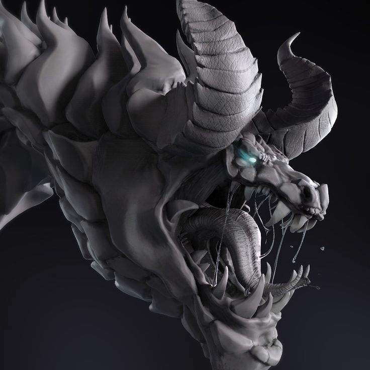 #Dragon #Zbrush #Beast #Creature #3D #Concept #Monster #NKT