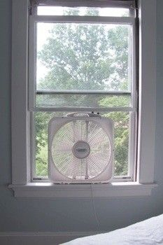 Summertime meant we slept with the windows open listening to a box fan running.
