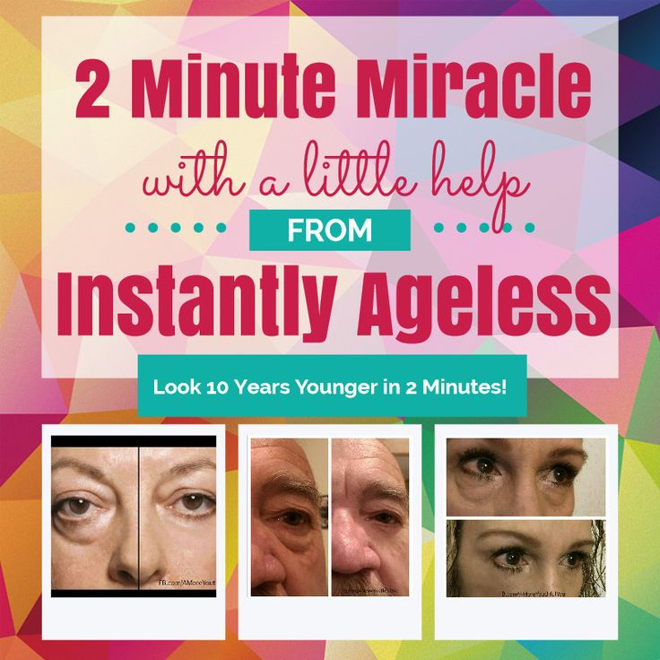 Have you tried #InstantlyAgeless yet? Would you like to look 10 years younger in just 2 minutes? Well you can!  See how it works here >>http://YTInstantlyAgeless.amoreyouthfulyoutoday.com