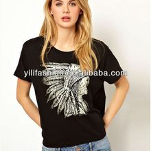 Wholesale new fashion women round neck short sleeves black best seller follow this link http://shopingayo.space