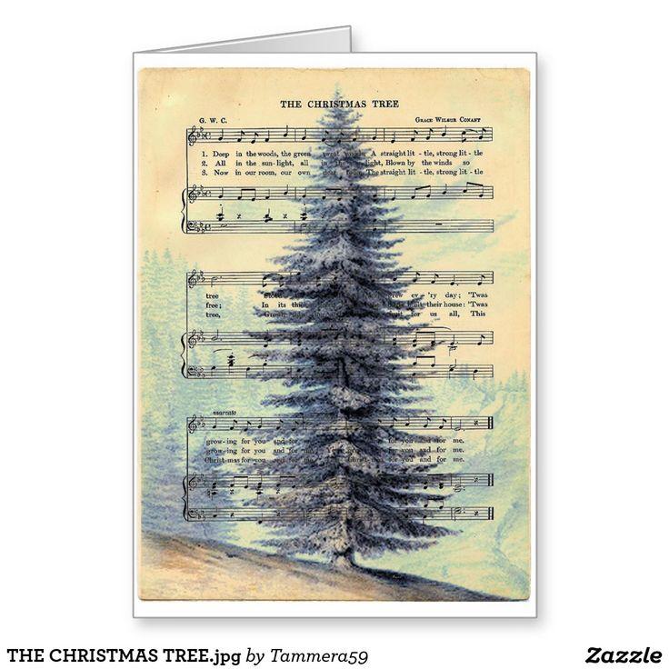 THE CHRISTMAS TREE.jpg Greeting Card