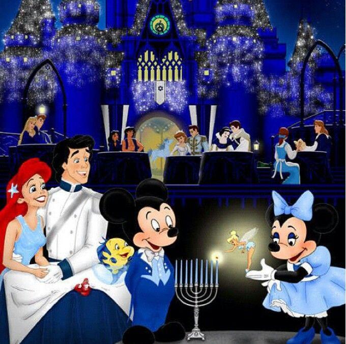 What a sweet Disney Hanukkah Montage!