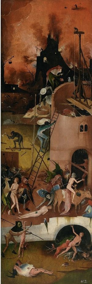 The Haywain Triptych (Right Panel, Hell)