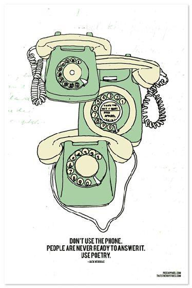 telepoetry