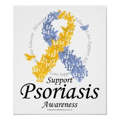 Support psoriasis awareness. And please try not to stare. ☺️