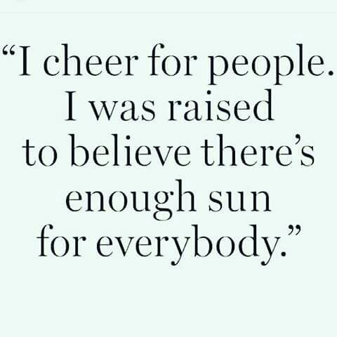 . #cheer #support