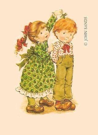Sarah Kay.- frohe weihnachtskarten -24591 | Bilder Kostenlos