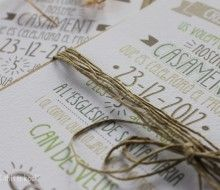Cristina+Jordi. #invitaciones #boda #personalizado #handmade