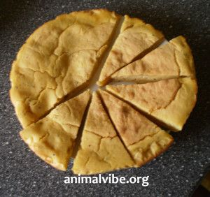 torta vegan per cani