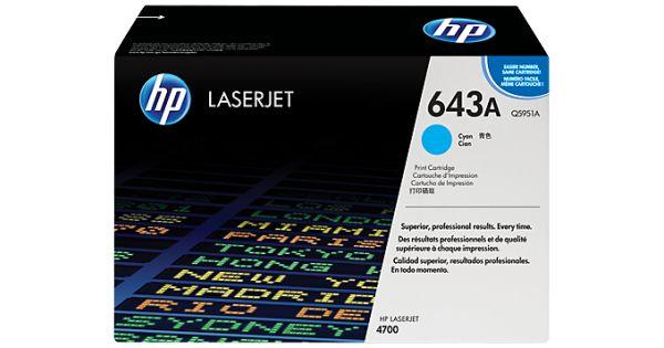 Cartus laser HP Q5951AProdus: Cartus TonerCategorie: ORIGINALTehnologie: LaserProducator: HPCod produs: Q5951ACuloare: CyanCapacitate: 10000 pagini (5% incarcare\draft)Pret: 600 lei cu TVACost\pagina: 0,06000 lei
