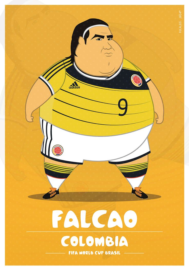 Falcao - Colombia.