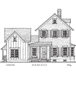 love the shutters, porch, board and batten on addition - farmhouse additions pictures - Google Search