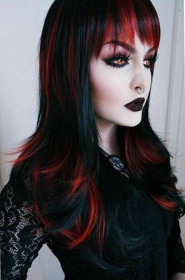 Tumblr Gothic Hairstyles Hair Styles Goth Hair