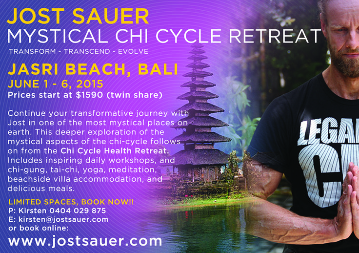 Jost Sauer in Bali 2015  Take a transformative journey with #jost FB page: https://www.facebook.com/pages/Jost-Sauer/128254132541 Website: http://www.jostsauer.com/