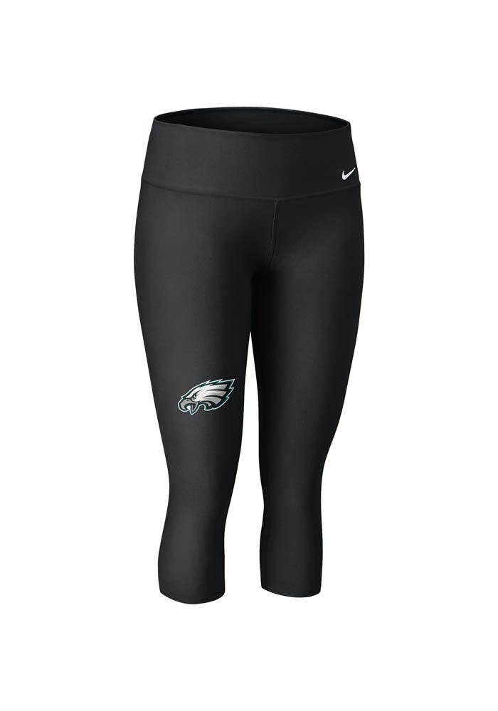 Philadelphia Eagles Women's Black Nike Dri-FIT capris http://www.rallyhouse.com/shop/philadelphia-eagles-nike-12558002?utm_source=pinterest&utm_medium=social&utm_campaign=Pinterest-PhiladelphiaEagles $65.00