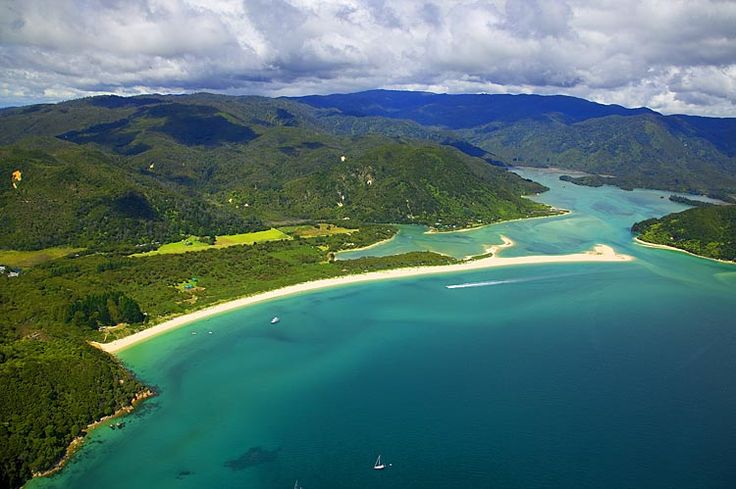 Abel Tasman National Park, see more, learn more, at New Zealand Journeys app for iPad www.gopix.co.nz
